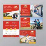 Printed and Facebook Ads design samples - More Than Design