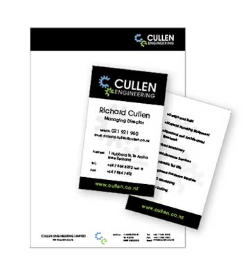 Letterheads and business cards design samples - More Than Design