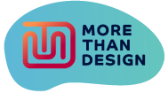 More Than Design Logo