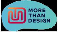 More Than Design Logo
