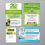Brochures and Flyers design. - samples - More Than Design