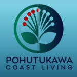 Logo design sample - Pohutukawa coast living