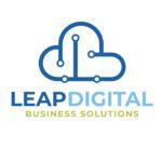 Logo design sample - Leap Digital business solutions