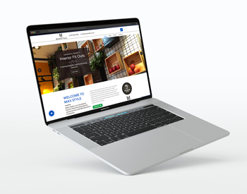 web design sample - Max Style