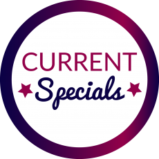Current specials - logo, business card, website design